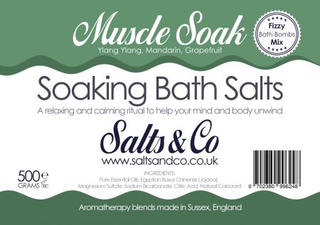 Muscle Soak Bath Salts by Salts & Co