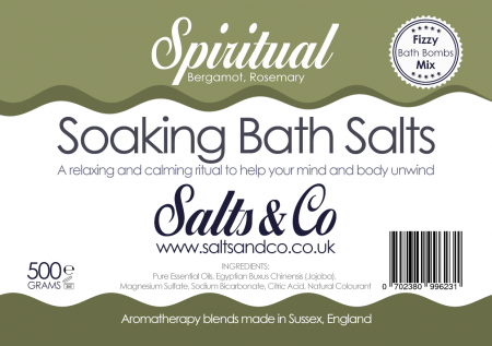 Spiritual Bath Salts by Salts & Co