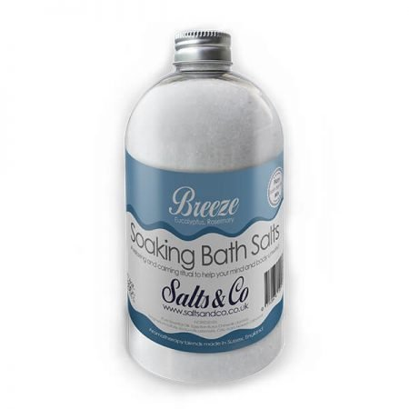 Breeze Epsom Bath Salts by Salts & Co