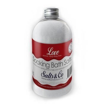 Love  Epsom Bath Salts by Salts & Co