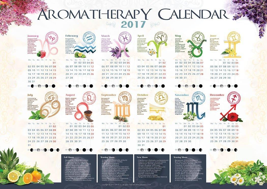 Aromatherapy Calendar