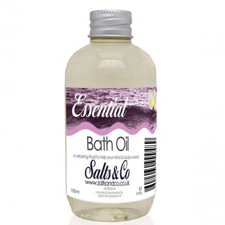 Rose and Lavender Essential Bath Oil