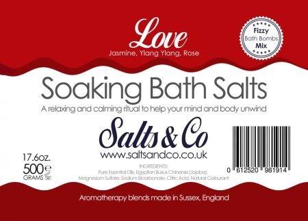Love Epsom Bath Salts