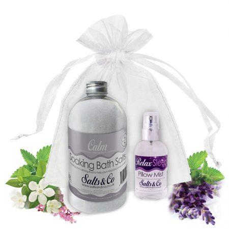 Salts & Co Gift set Calm & Relax