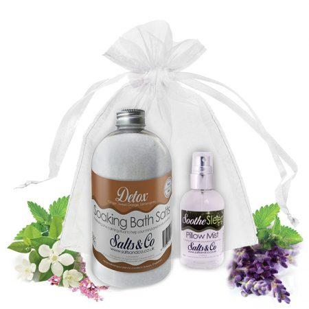 Salts & Co Gift set Detox & Soothe