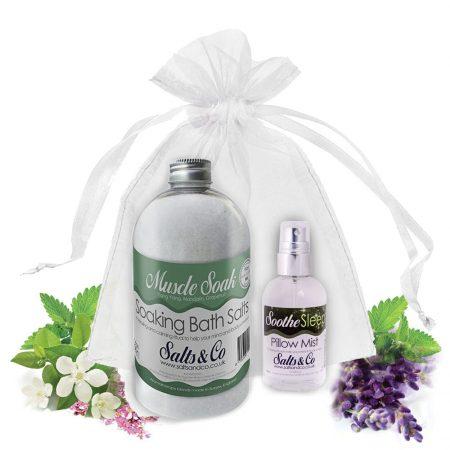 Salts & Co Gift set Muscle Soak & Soothe
