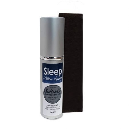 Travel Sleep Pillow Spray Chamomile, Lavender, Patchouli Essential Oils - Natural Aromatherapy by Salts & Co - 5ml